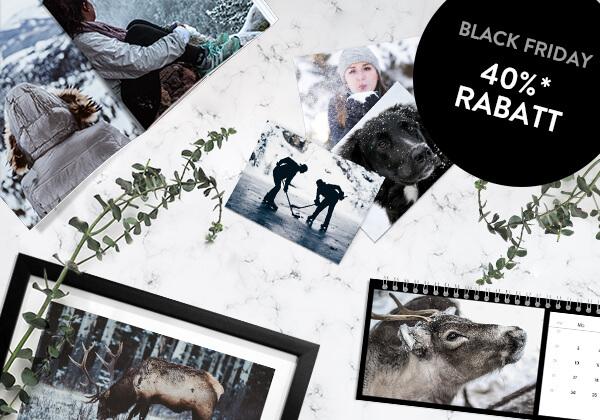 Black Friday ist der perfekte Geschenke-Tag - 40%* Rabatt!